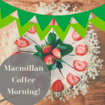 Macmillan Coffee Morning at Sharnfold Farm